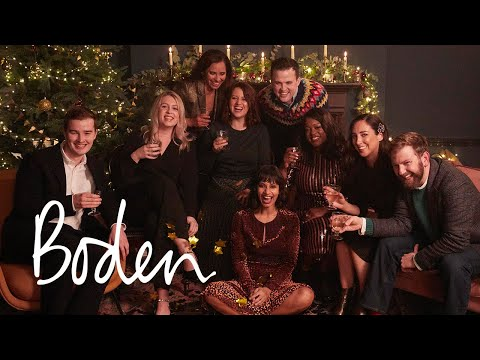 boden.co.uk & Boden Discount Code video: Party for EVERY body | Christmas partywear