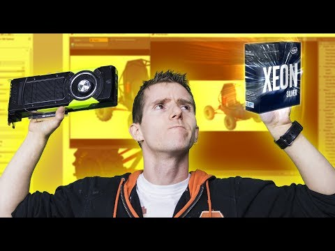 3D Modeling & Design – Do you REALLY need a Xeon and Quadro?? - UCXuqSBlHAE6Xw-yeJA0Tunw