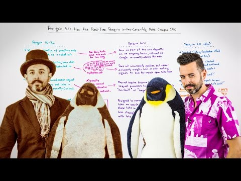 Penguin 4.0: How the Real-Time Penguin-in-the-Core-Alg Model Changes SEO - Whiteboard Friday