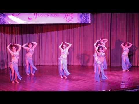 """Danza árabe nivel principiantes - 6to Aniversario Bellypassion """"Baisakhi"""""""