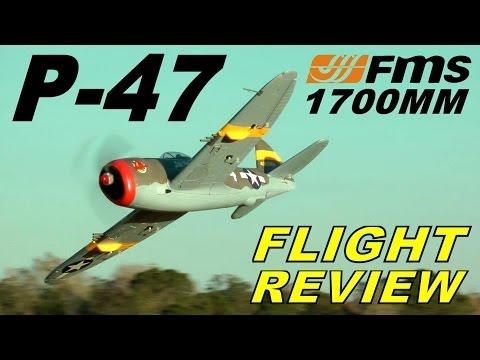 FMS P-47 THUNDERBOLT 1700mm FULL Model DEMO & Review By: RCINFORMER - UCdnuf9CA6I-2wAcC90xODrQ