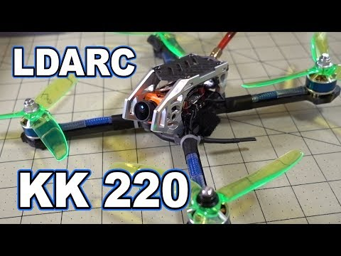 LDARC KingKong KK 220 5 inch FPV Drone Review  - UCnJyFn_66GMfAbz1AW9MqbQ