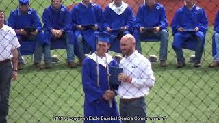 2019 Commencement - Georgetown Eagle Baseball Seniors