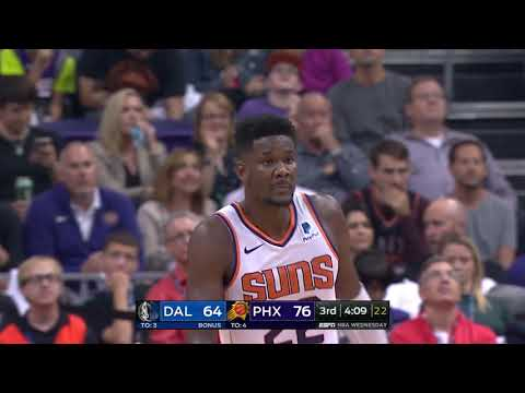 DeAndre Ayton and Luka Doncic Battle In First Career NBA Game | October 17, 2018