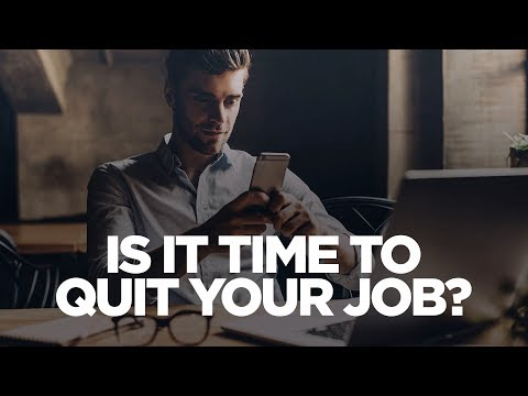 Is it time to quit your job? - Young Hustlers Live at 12pm EST photo
