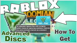 HOW TO GET 2 FREE ADVANCED DISKS IN LOOMIAN LEGACY! [ROBLOX]
