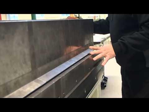 Bockning i manuell bockmaskin