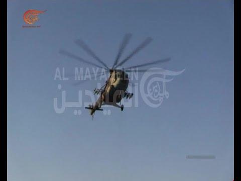 بعد كسر الحصار عن دير الزور بدأت المروحيات بالعودة الى المهام العسكرية المعتادة