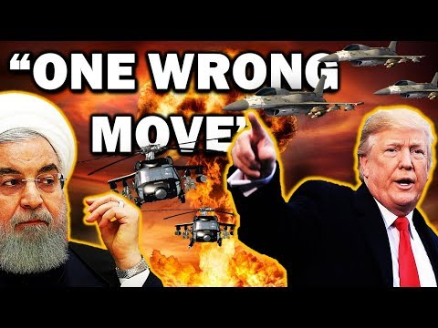 Breaking End Time Signs Alert: Iran Double Dares U.S. - Trump Already Warned - One Wrong Move!