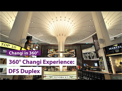 The DFS Duplex 360° Changi Experience