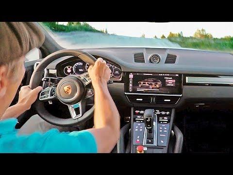 Awesome POV in the 680HP Porsche Cayenne Turbo S E-Hybrid ? ASPHALT + GRAVEL