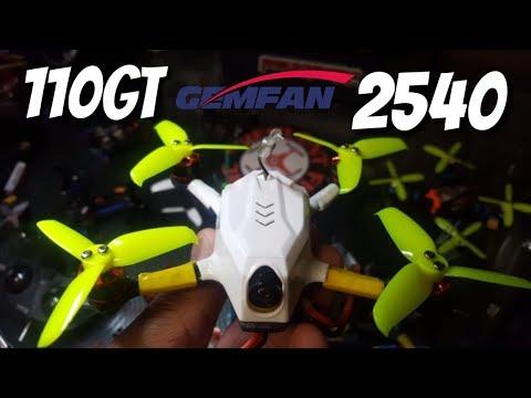 Kingkong 110GT + Gemfan Flash 2540 Tri-blades - UCNUx9bQyEI0k6CQpo4TaNAw