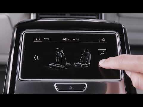Audi A8 bagsæde detaljer