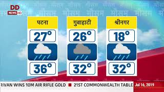 Weather Updates: Know the weather conditions across your city   07/07/2019