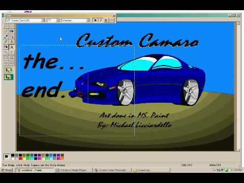 رسم سيارة باستخدام MS. Paint