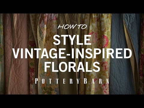 How to Style Vintage Inspired Florals