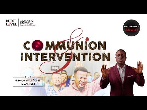 Next Level Prayers  Communion & Intervention  Pst Bolaji Idowu  11th August 2021