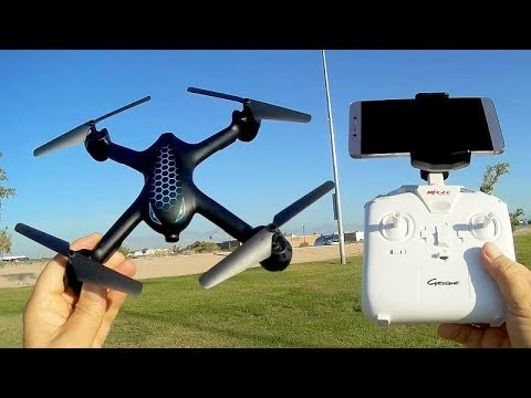 MJX X708P Optical Flow Strong WiFi FPV Drone Flight Test Review - UC90A4JdsSoFm1Okfu0DHTuQ