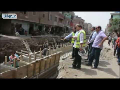بالفيديو : محافظ القليوبية يتفقد مشروعات الرى بالمحافظة