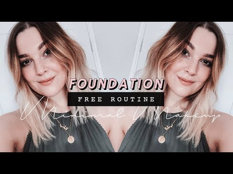 NO FOUNDATION ROUTINE | MINIMAL MAKEUP TUTORIAL | I Covet Thee
