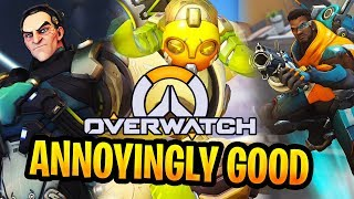 Annoyingly GOOD Comp : Sigma + Orisa + Baptise  Thoughts on 2-2-2 Overwatch Gameplay
