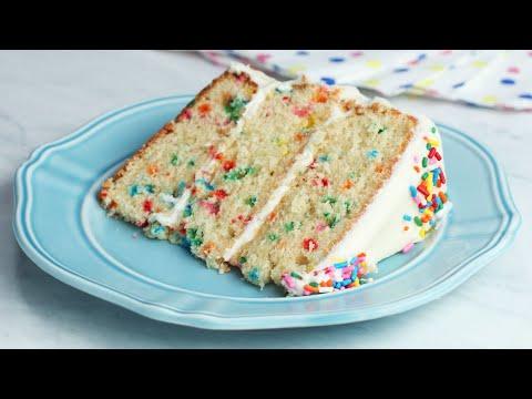 The Ultimate Funfetti Cake