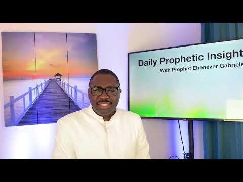 Prophetic Insight  31st, 2021