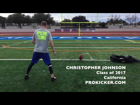 Christopher Johnson, Prokicker.com Kicker, Class of 2017
