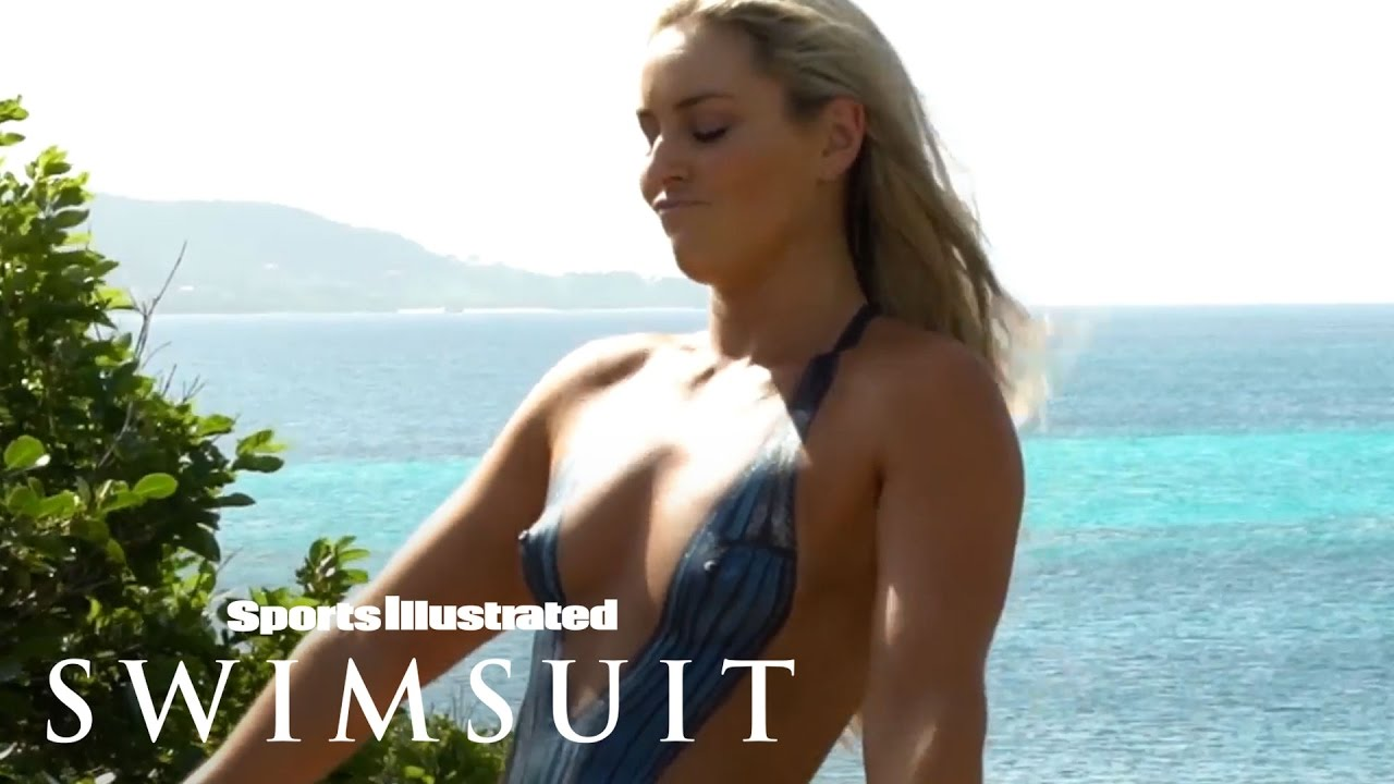 Lindsey Vonn's Sexy Body Paint   Outtakes   Sports Illustrated Swimsuit