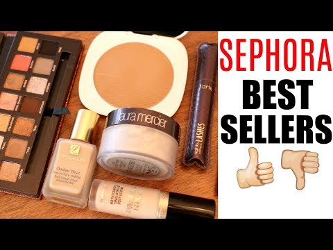 WORTH IT? || FULL FACE OF SEPHORA BEST SELLERS - UCp3_Zq16GNd-uBVHM8hYQlg