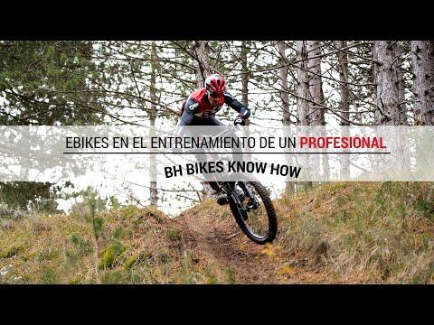 Ebikes en el entrenamiento de un profesional | BH BIKES know how