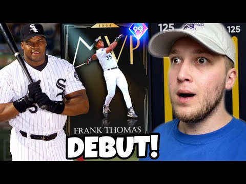this *NEW* 99 FRANK THOMAS is the BEST HITTER ever released.. WHAT AN ENDING! MLB The Show 21