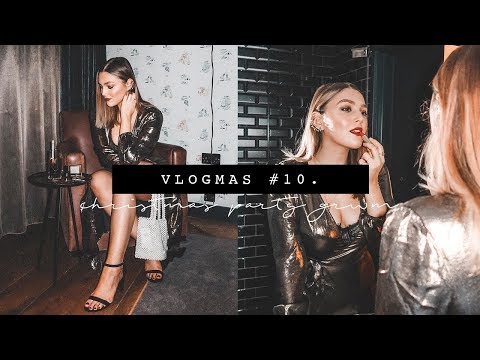 CHRISTMAS PARTY GET READY WITH ME | VLOGMAS PART 10 | I Covet Thee