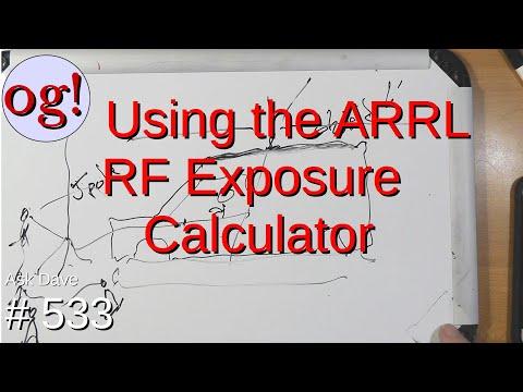Using the ARRL RF Exposure Calculator (#533)