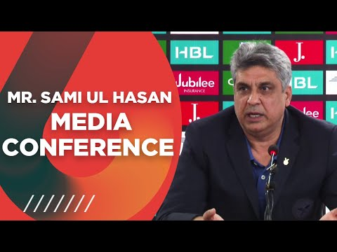 PCB Director Media And Communications Mr Sami ul Hasan Media Conference At The NSK
