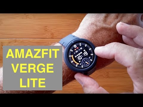 XIAOMI AMAZFIT VERGE LITE IP68 Waterproof Sports Fitness Smartwatch: Unboxing and 1st Look