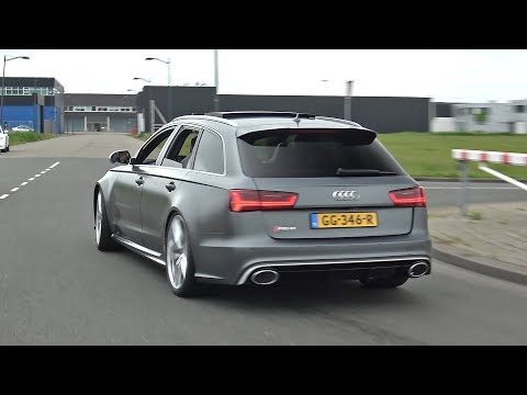 Audi RS6 Avant C7 – Revs, Accelerations, Fly by's!