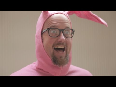 A Christmas Story - Ralphie's Bunny Suit Costume gone wrong
