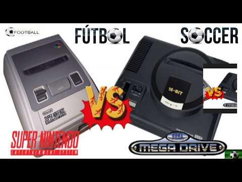 SNES vs MD: Juegos de fútbol