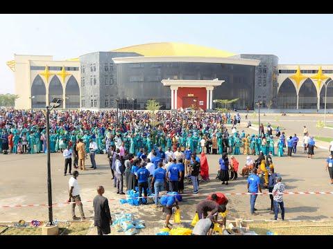Christmas Welfare Distribution at the Glory Dome