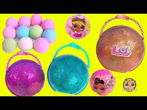 BIG LOL Surprise BAll Haul ! Baby Dolls Sisters + Fizzy Water Bombs - UCelMeixAOTs2OQAAi9wU8-g