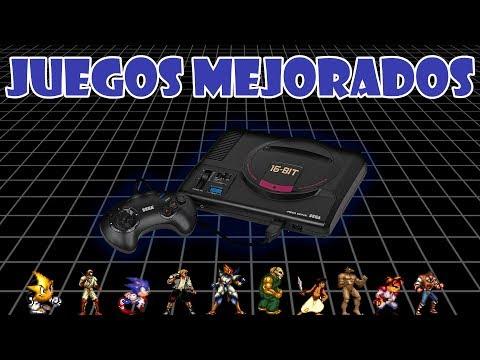 Directo Juegos Mejorados Mega Drive #1