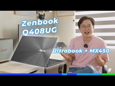 Asus Zenbook Q408UG: Ultrabook + MX450!