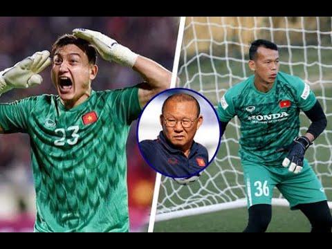 Cơn đau đầu của HLV Park Hang Seo về vị trí thủ môn ở ĐT Việt Nam - Văn Lâm hay Tấn Trường?   VTV24