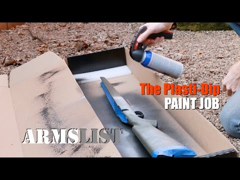 How to Paint a Non-Permanent Camo Pattern Your Rifle