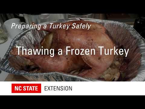 Cover photo for How to Thaw a Frozen Turkey