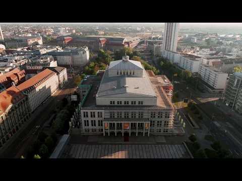 Musikstadt Leipzig aus der Luft