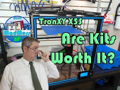 TronXY X5S Kit 3D Printer   March MadMess