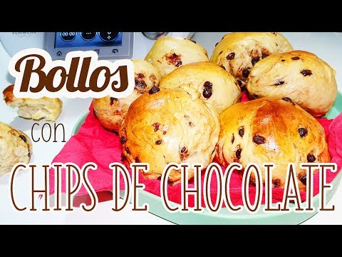 Bollos con chips de chocolate Thermomix | Doowaps caseros