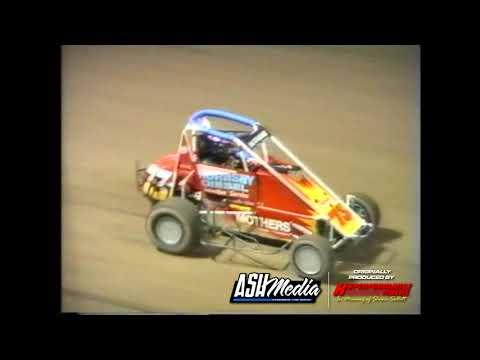 Speedcars: A-Main - Archerfield Speedway - 08.01.1997 - dirt track racing video image